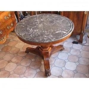 Louis Philippe Pedestal Table