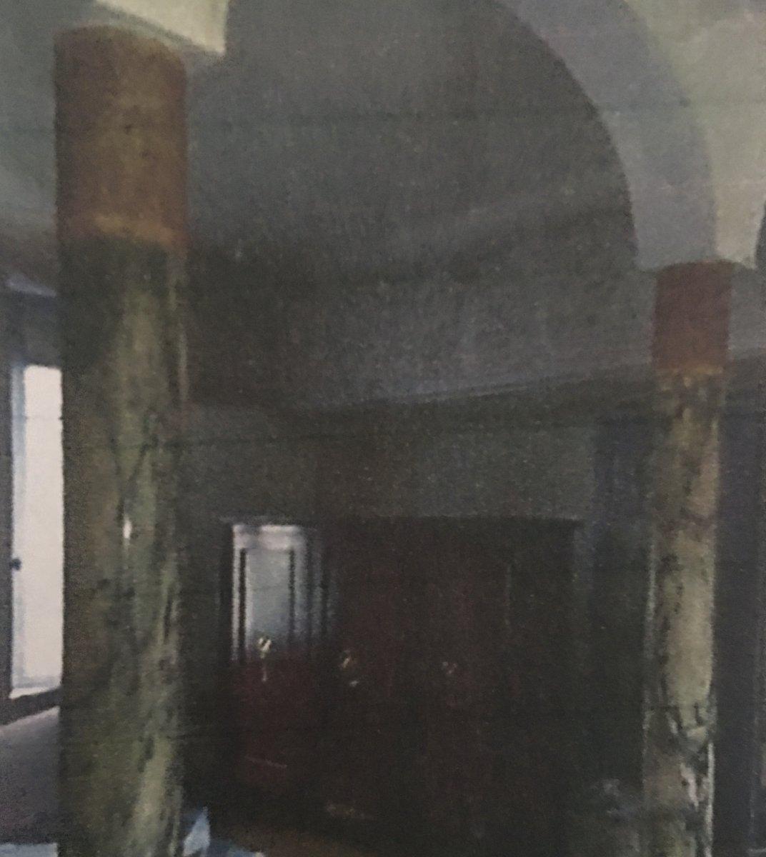 Paire De Colonnes Et Paire De Pilastres En Marbre Période Art Déco-photo-4
