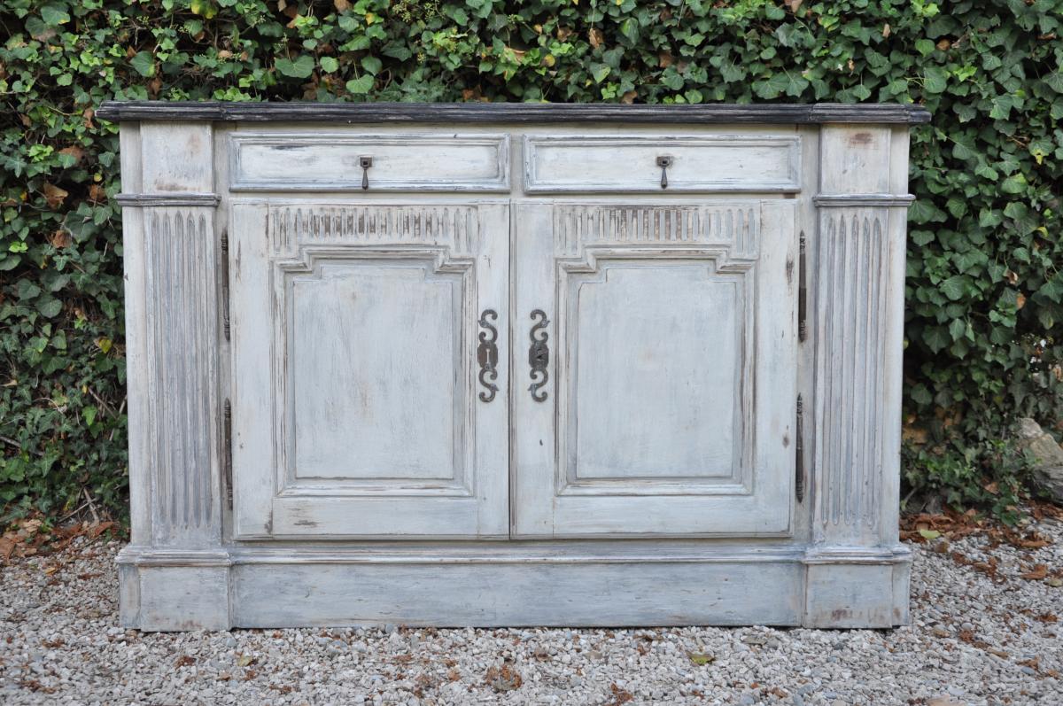 Sideboard Cabinet Louis XVI Woodwork