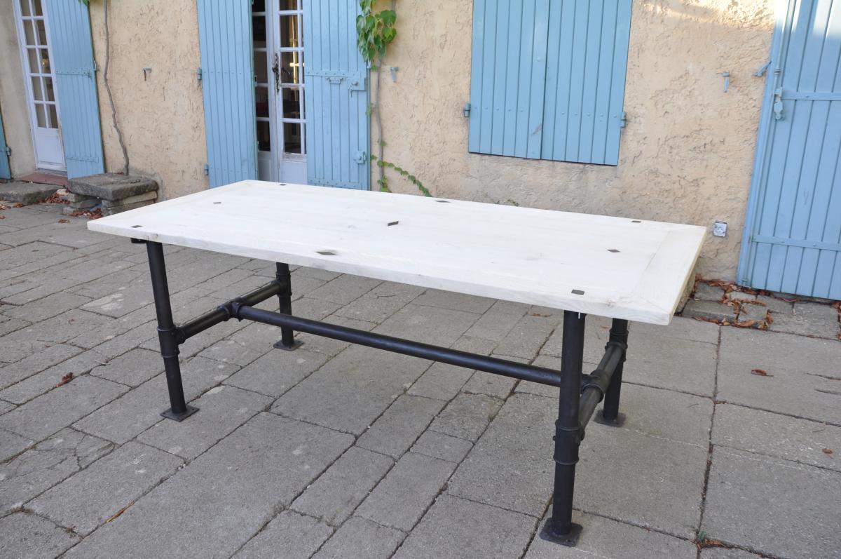 Table Industrielle -photo-3