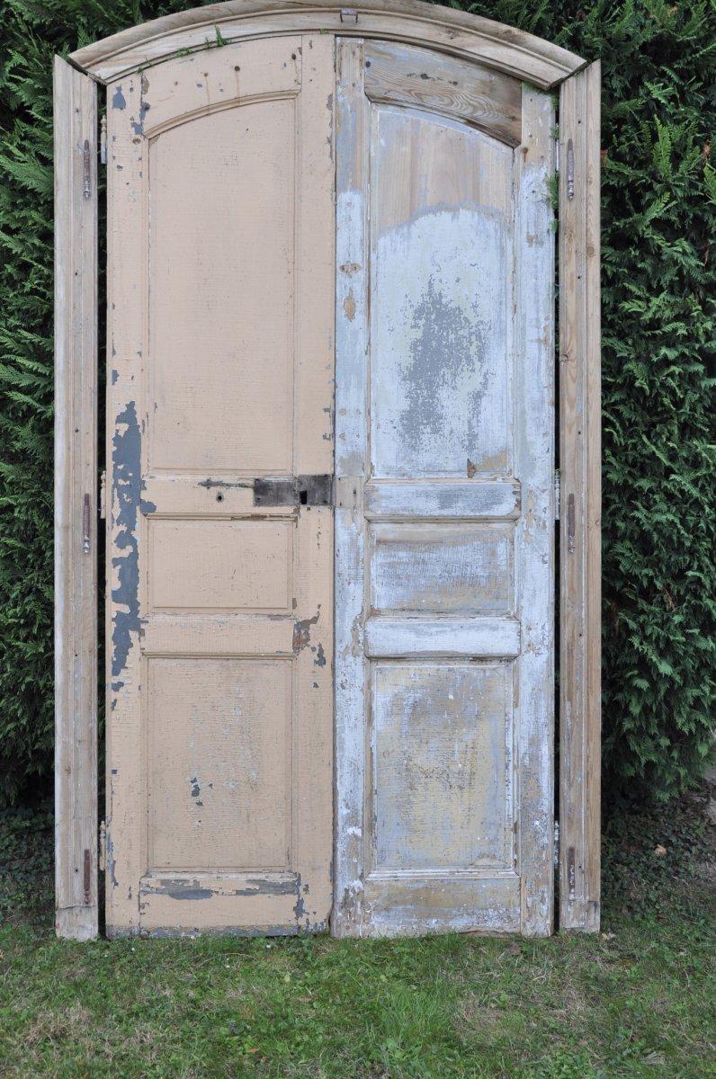 Old Woodwork Door