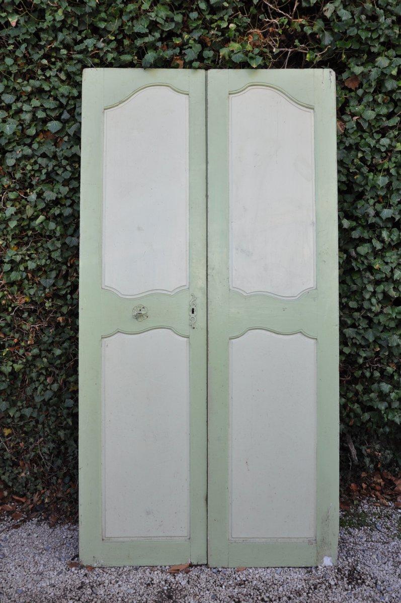 Porte De Communication à Deux Vantaux Louis XV époque XIX