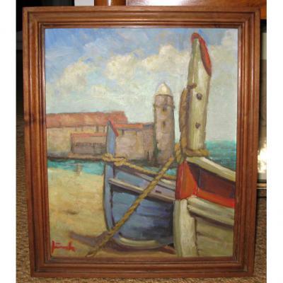 Les Barques à Collioure