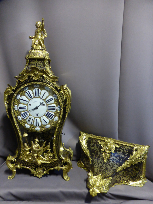 Grand Cartel d'époque Louis XV Signé Gosselin