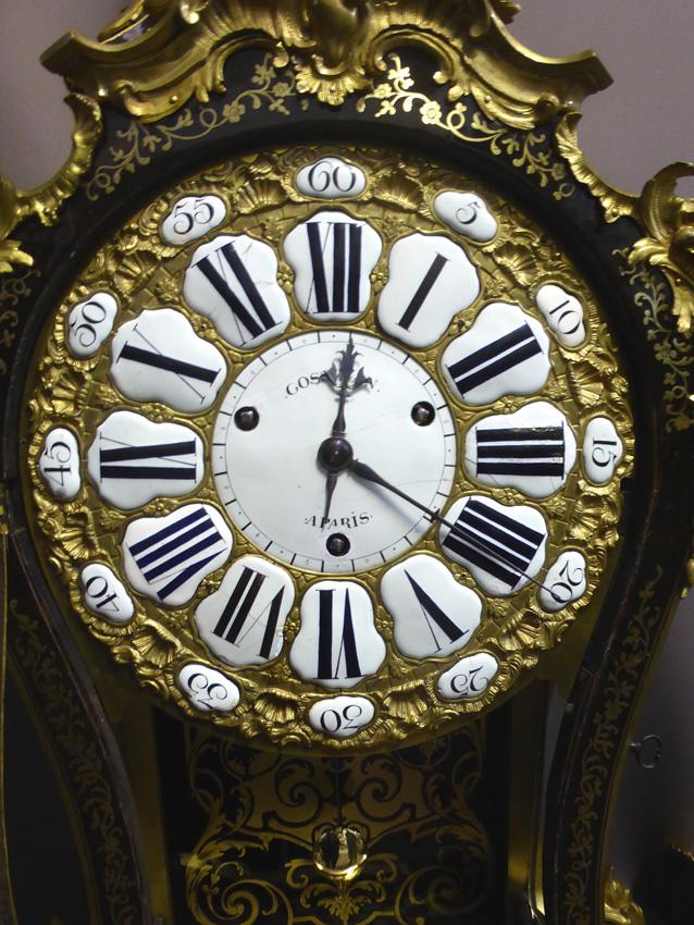 Grand Cartel d'époque Louis XV Signé Gosselin-photo-2