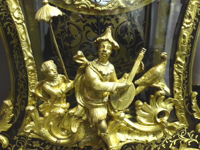 Grand Cartel d'époque Louis XV Signé Gosselin-photo-3