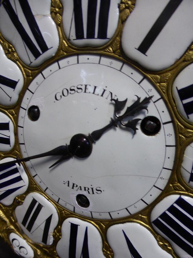 Grand Cartel d'époque Louis XV Signé Gosselin-photo-6