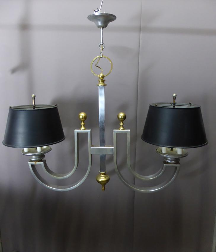 lustre moderniste des ann es 50 lustres. Black Bedroom Furniture Sets. Home Design Ideas