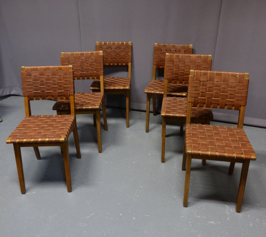 6 Chairs Jens Risom