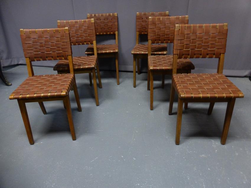 6 Chaises Jens Risom -photo-3