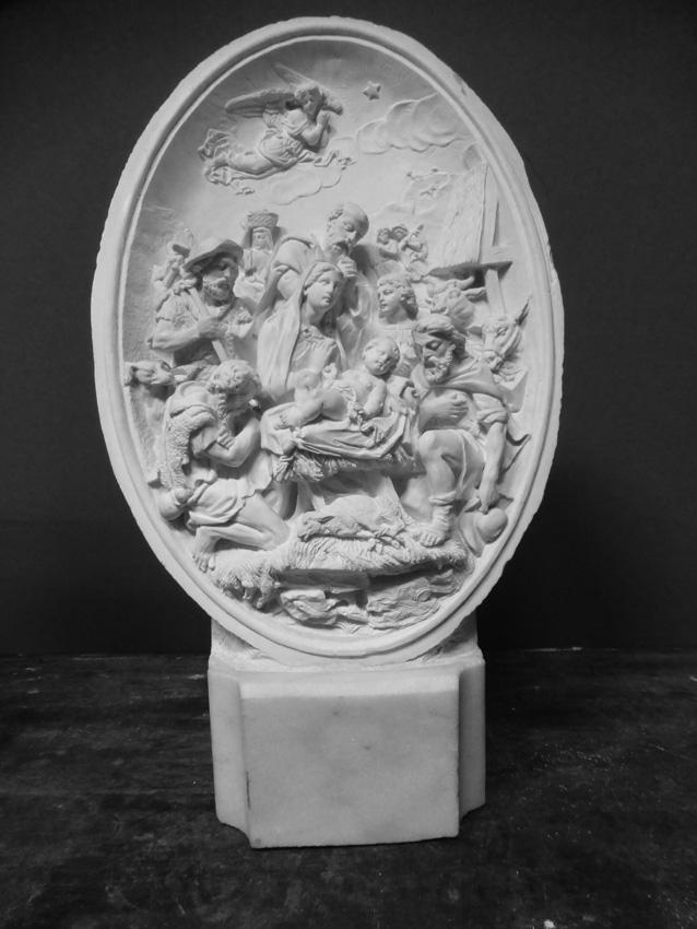 Moulage En Plâtre, La Nativité, XXe
