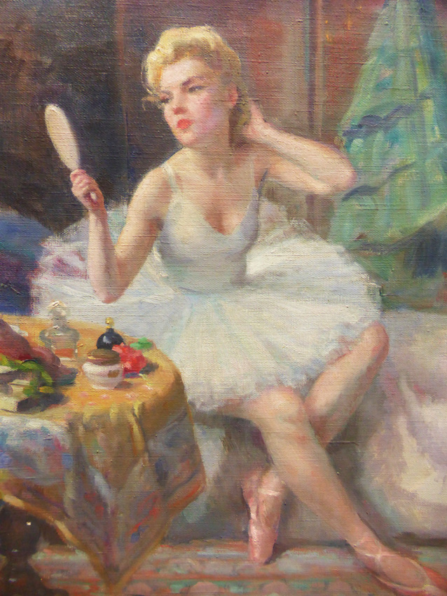 Peinture De Madeleine Plantey