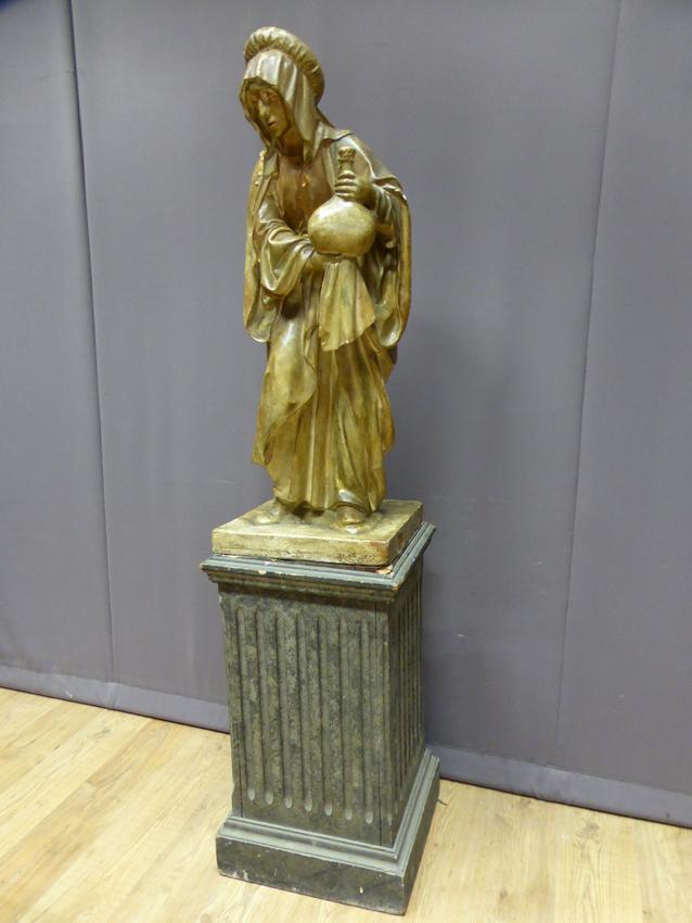 Statue Sainte Marthe XIX