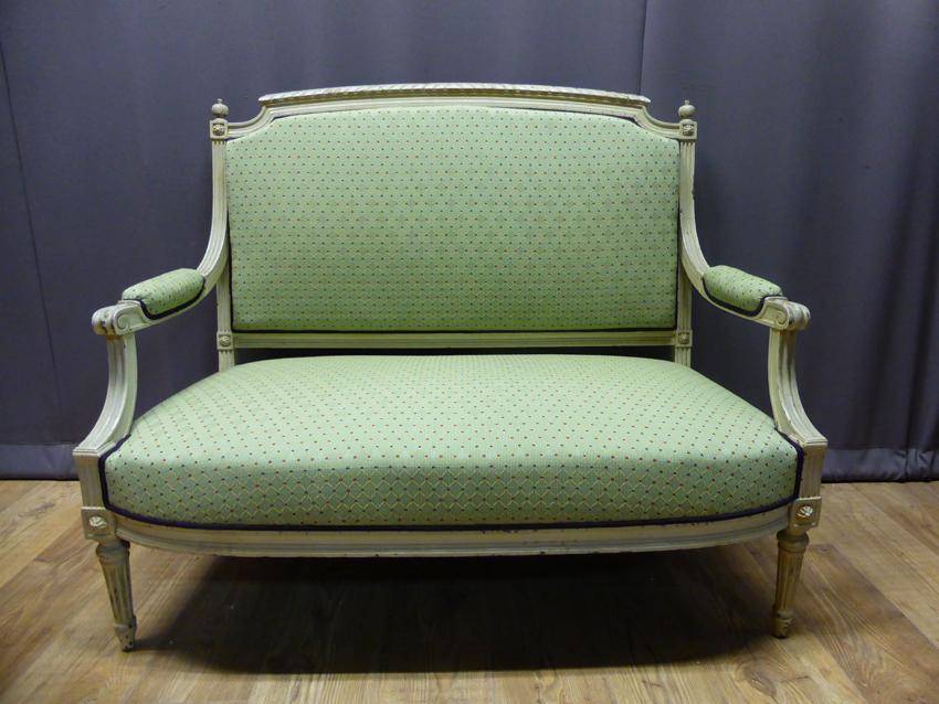 Lacquered Louis XVI Style Sofa