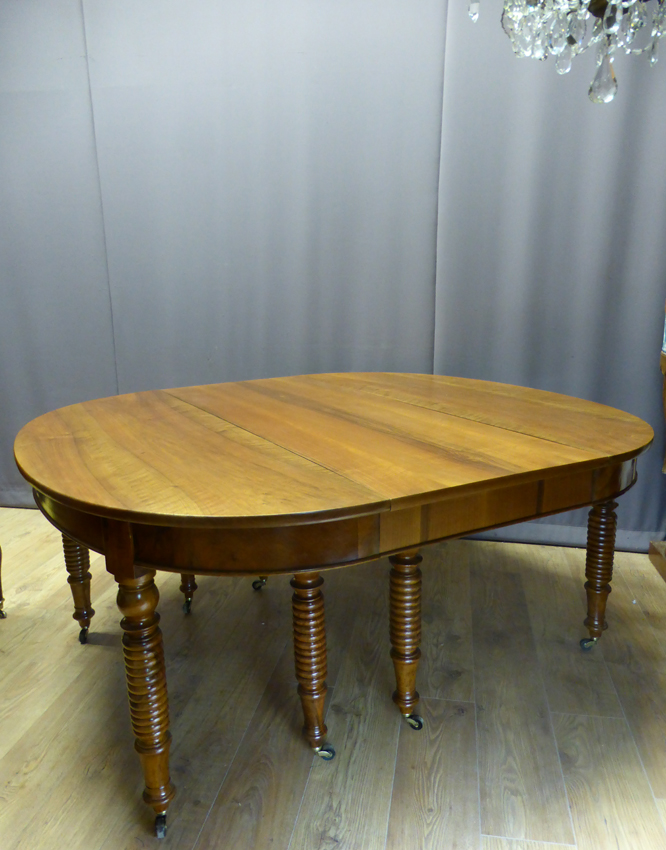 Very Large Table Walnut (4.40 M) XIX