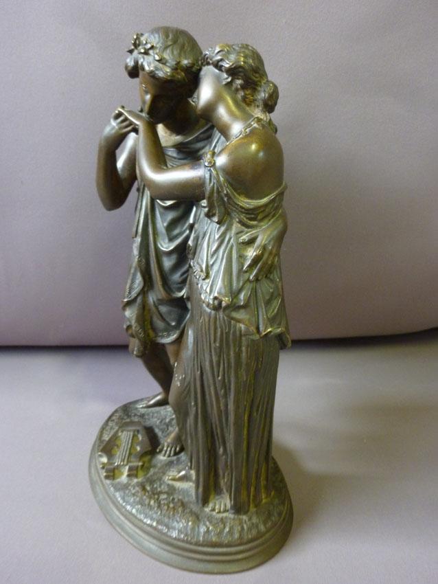 Sculpture En Bronze signée Ch.Janson