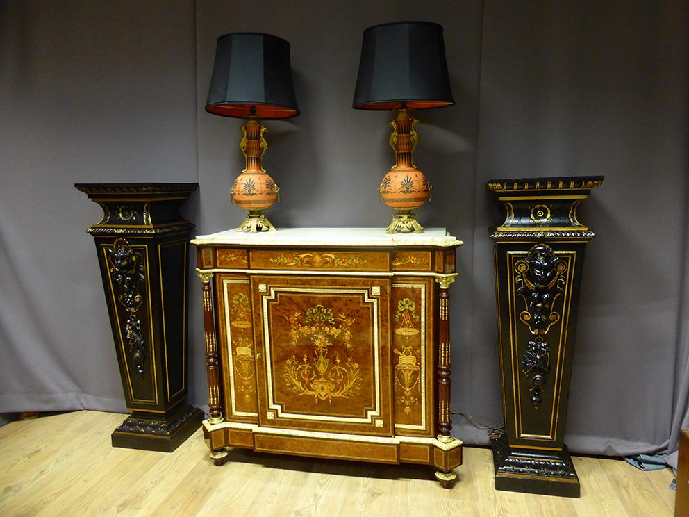 Buffet En Marqueterie Napoléon III