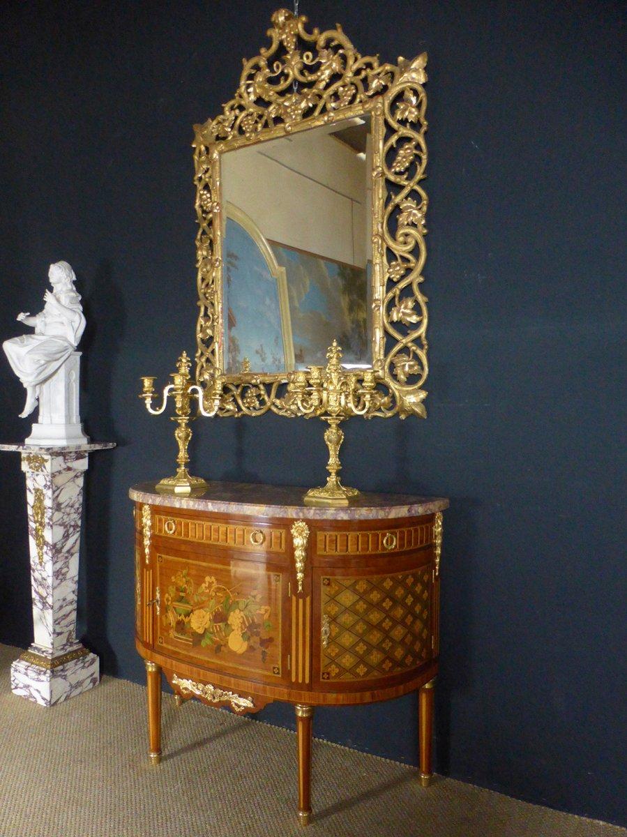 Miroir Doré XIX