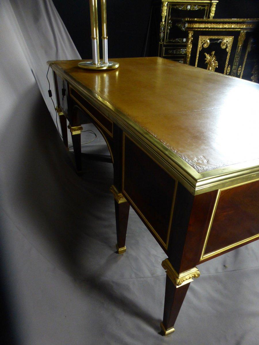 Desk 8 Feet Mahogany-photo-1