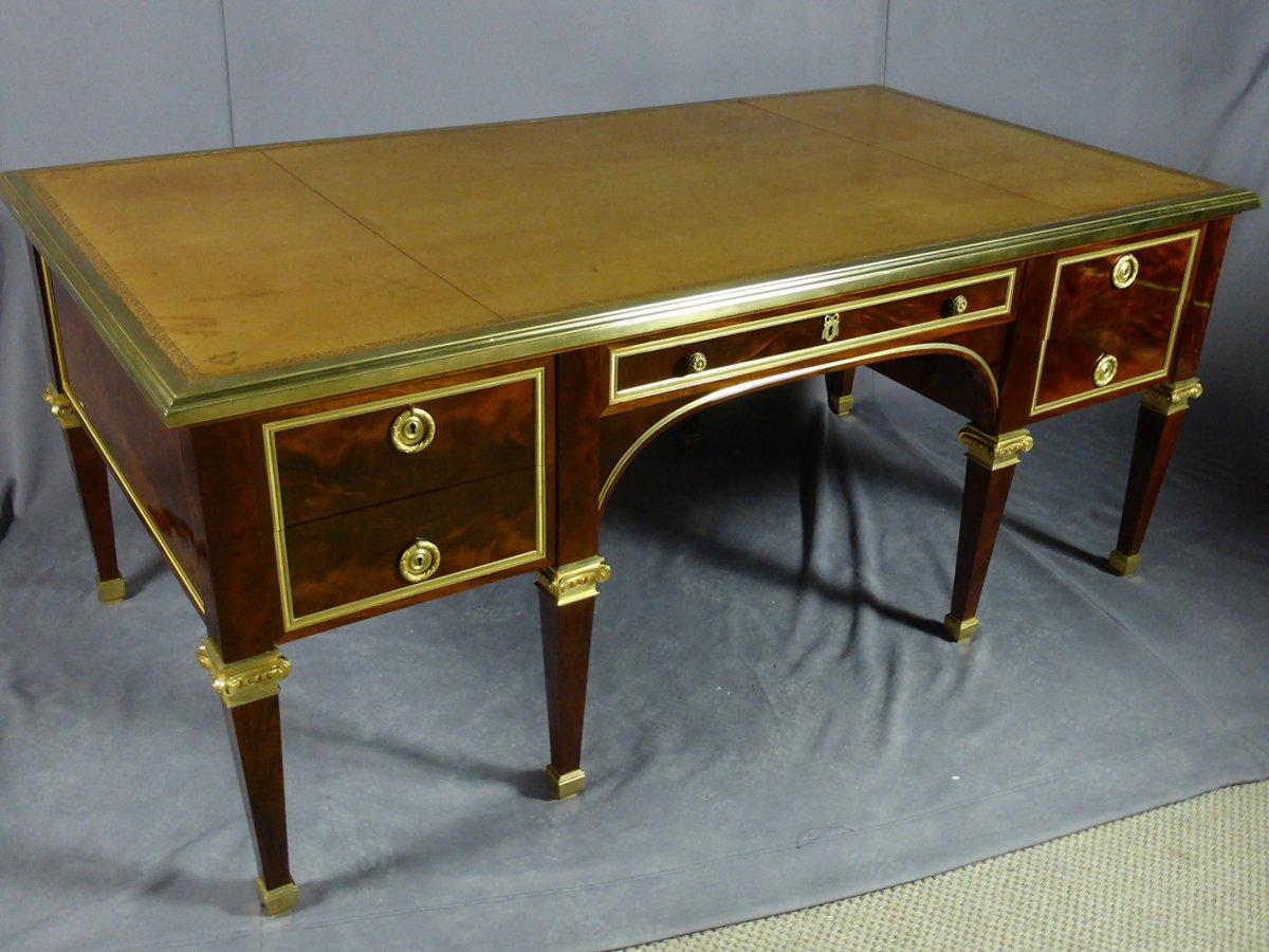 Desk 8 Feet Mahogany-photo-4