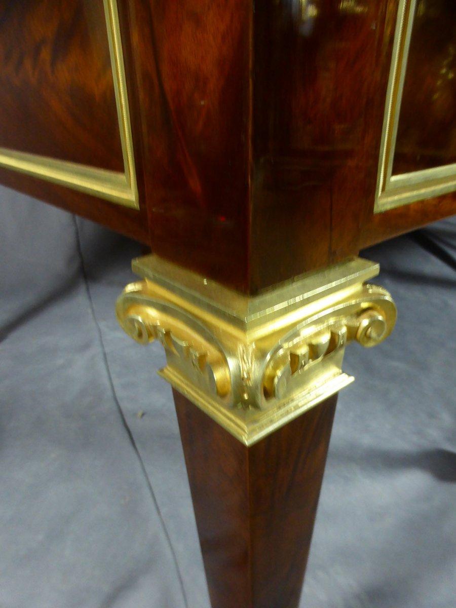 Desk 8 Feet Mahogany-photo-5