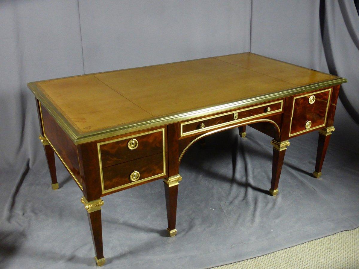 Desk 8 Feet Mahogany-photo-7