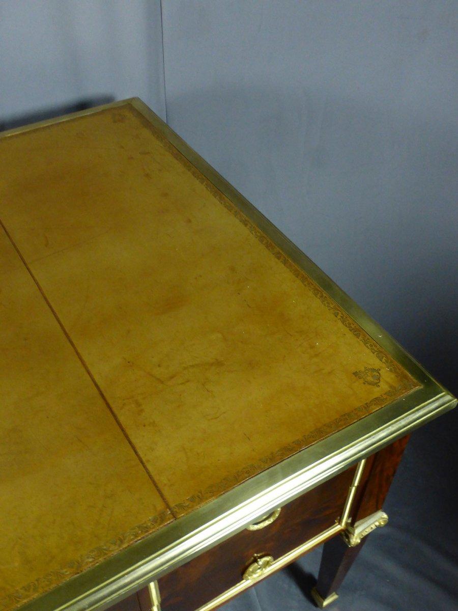 Desk 8 Feet Mahogany-photo-8