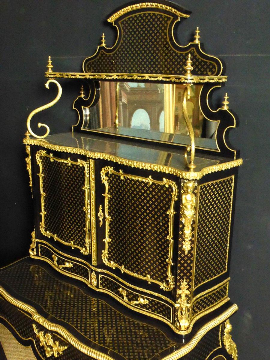 Bureau Bonheur Du Jour Napoléon III-photo-6