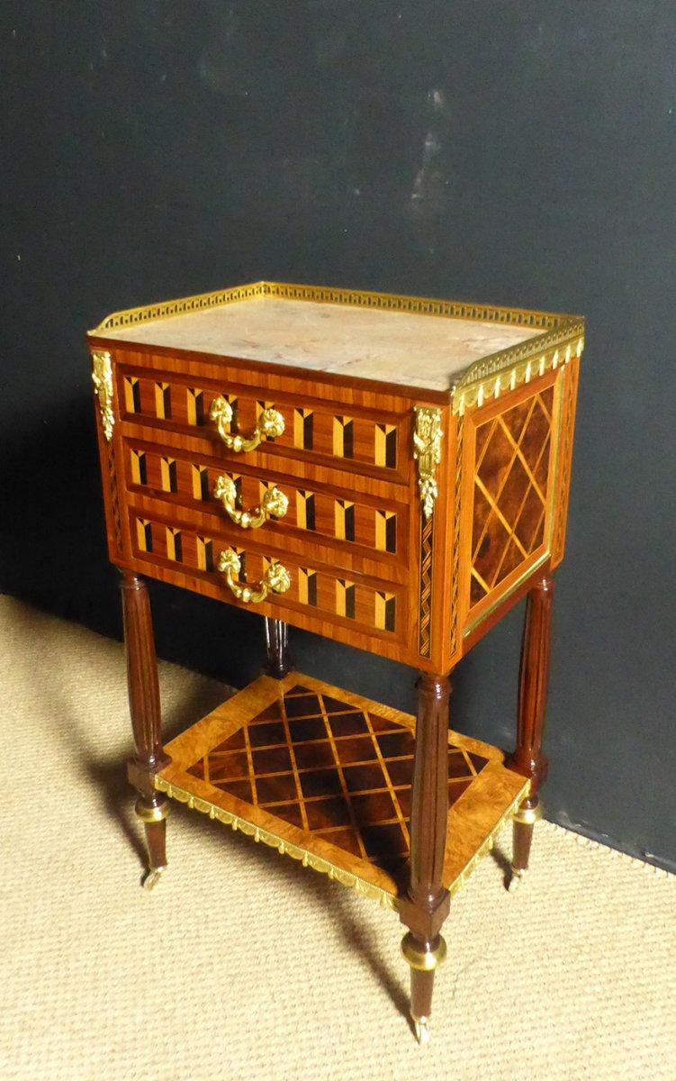 Table de salon En Marqueterie XIX