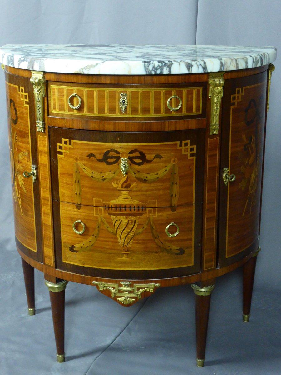 Half Moon Marquetry Dresser