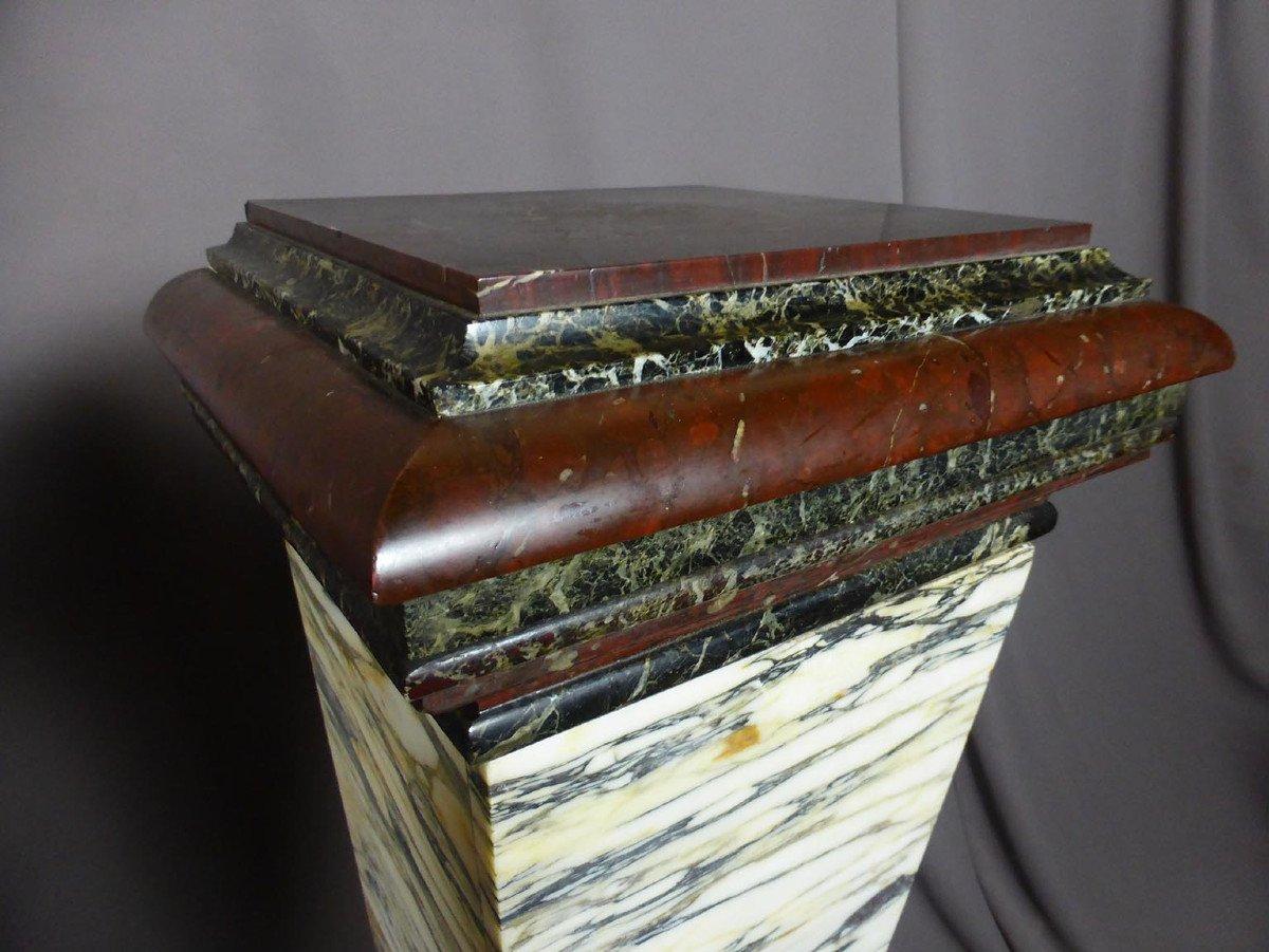 Pair Of Napoleon III Marble Sheaths-photo-3