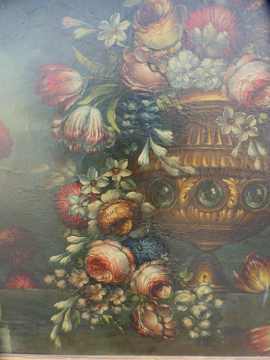 Tableau XIX Bouquet De Fleurs-photo-1