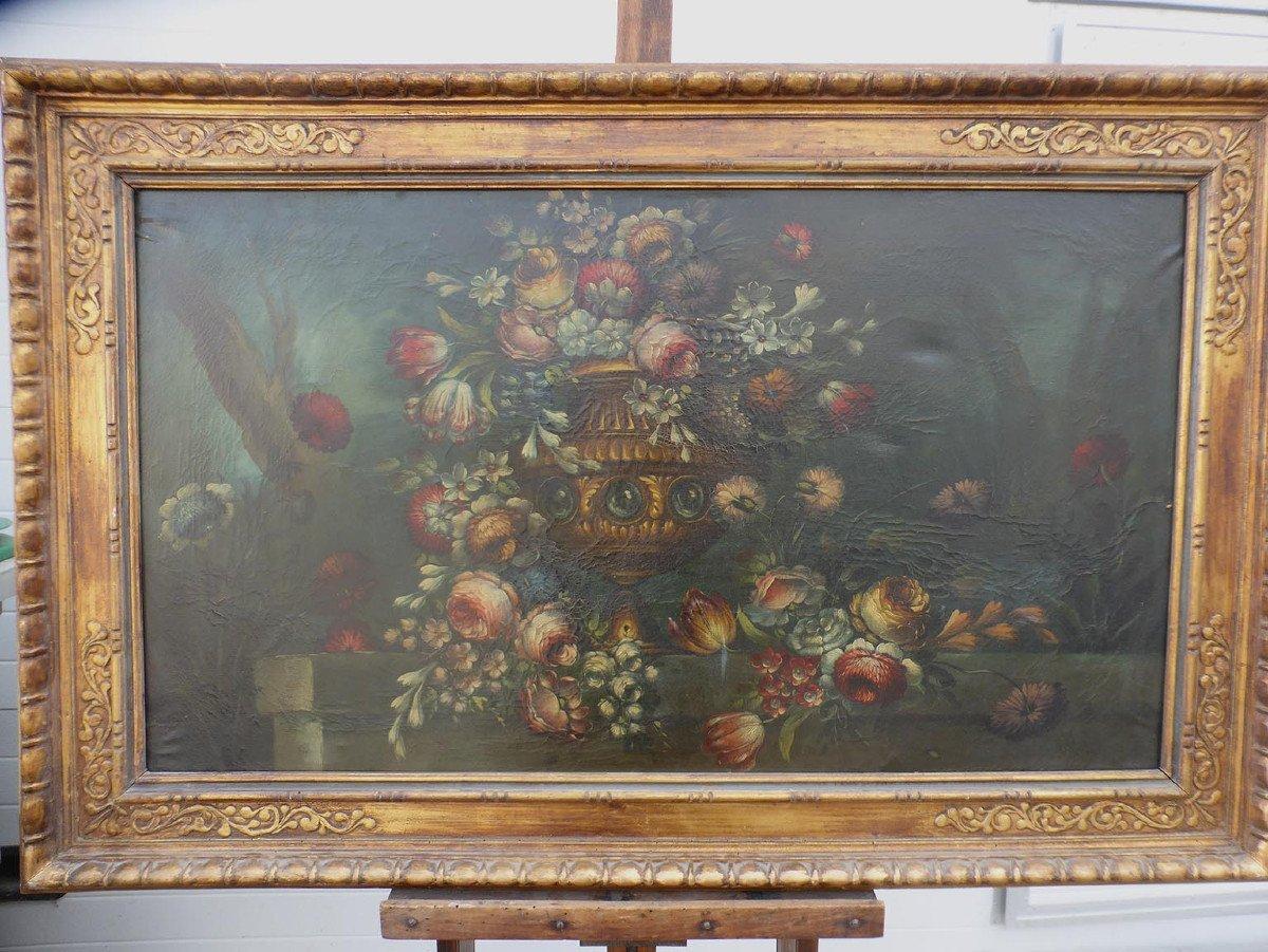 Tableau XIX Bouquet De Fleurs