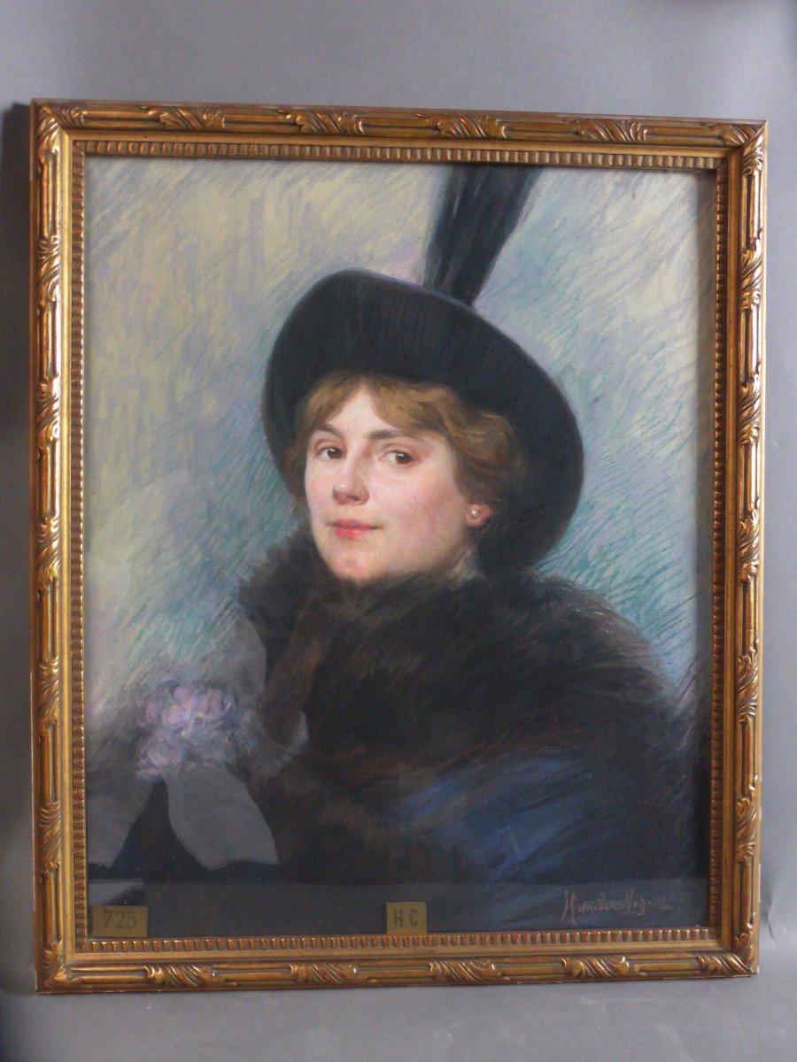 Pastel Signé Humbert-vignot