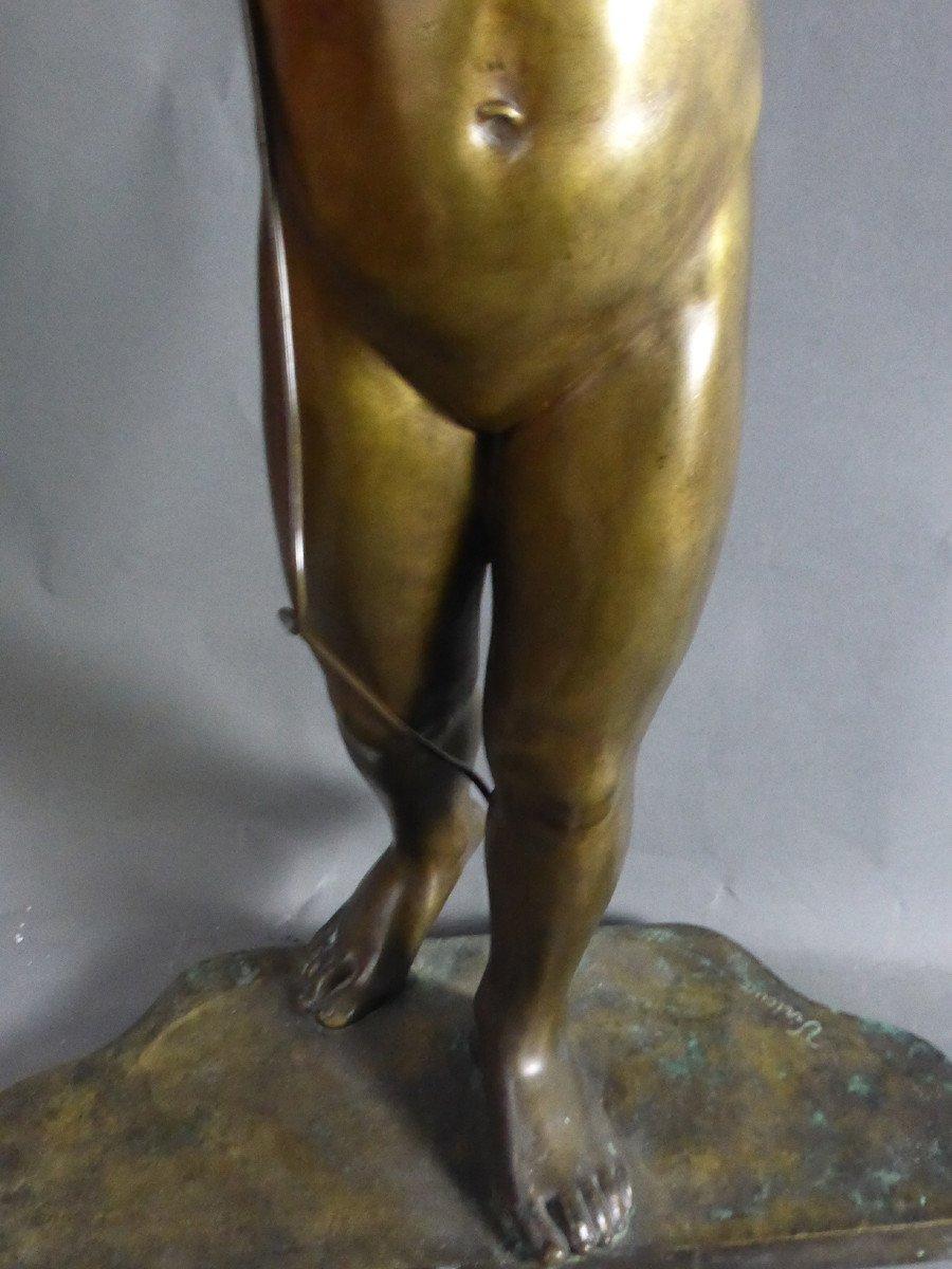 Bronze Signé Virieux françois louis-photo-2