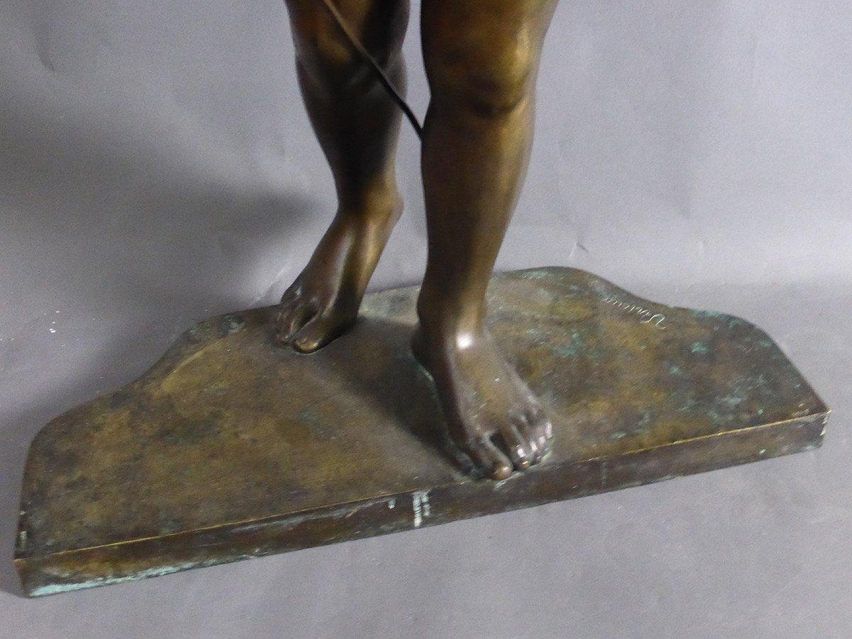 Bronze Signé Virieux françois louis-photo-3
