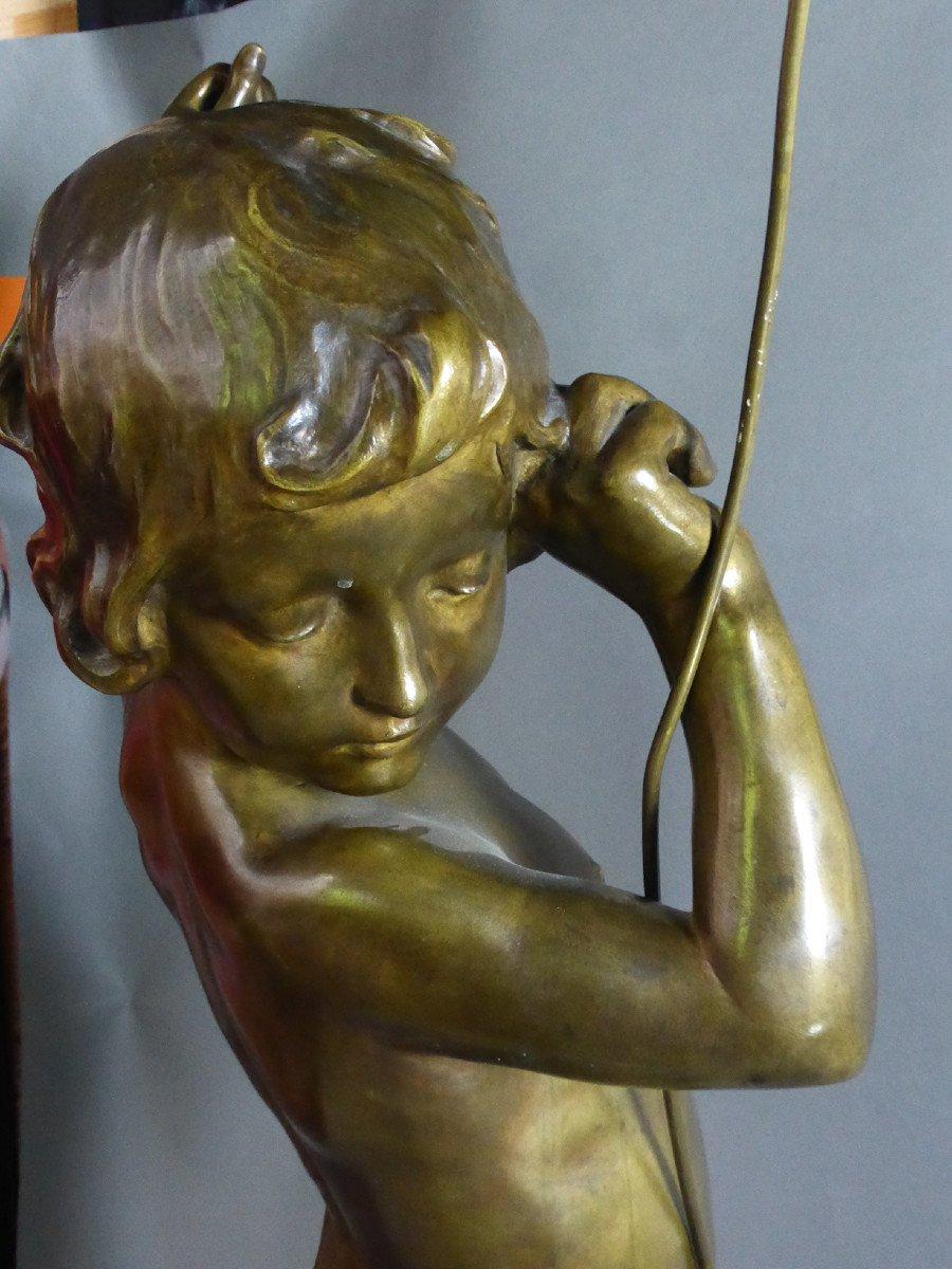 Bronze Signé Virieux françois louis-photo-5