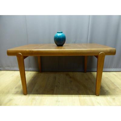 Table  Vintage En Teck, éditeur: Vamo Sonderborg - Années 60