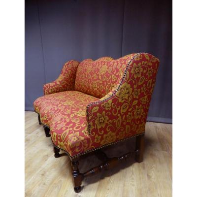 Canapé d'époque Louis XIII