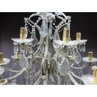 Grand Chandelier With Pendants XIX