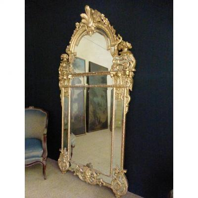 Grand Miroir Régence