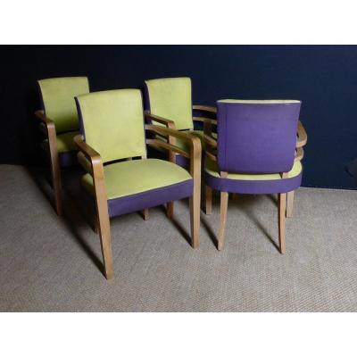 Suite Of Four Armchairs XX