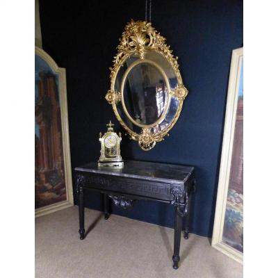 Large Napoleon III Mirror With Reserves