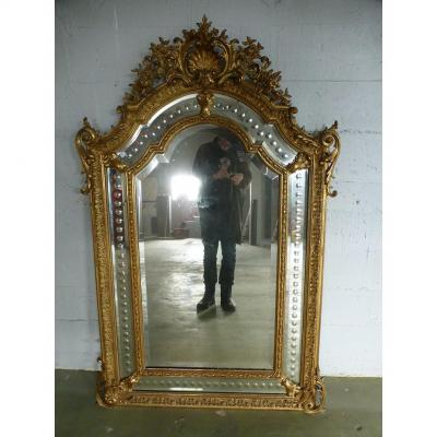 Miroir Napoléon III à Réserves