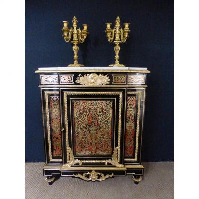 Boulle Marquetry Support Buffet