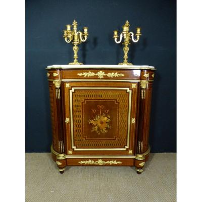 Support Buffet In Marquetry XIX