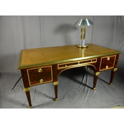 Desk 8 Feet Mahogany
