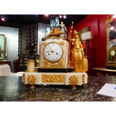 Pendule Louis XVI A La Minerve