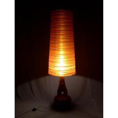 Lampe De Sol Signée Accolay