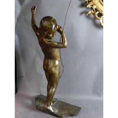 Bronze Signé Virieux françois louis